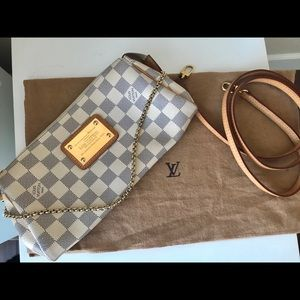 Authentic Louis Vuitton Damier Azur